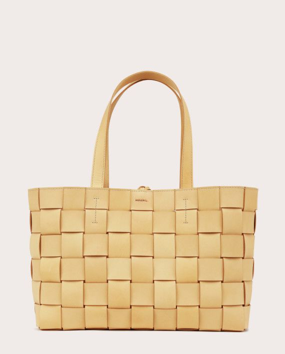 PANE Shopper Woven Bag Horizontal Natural-1