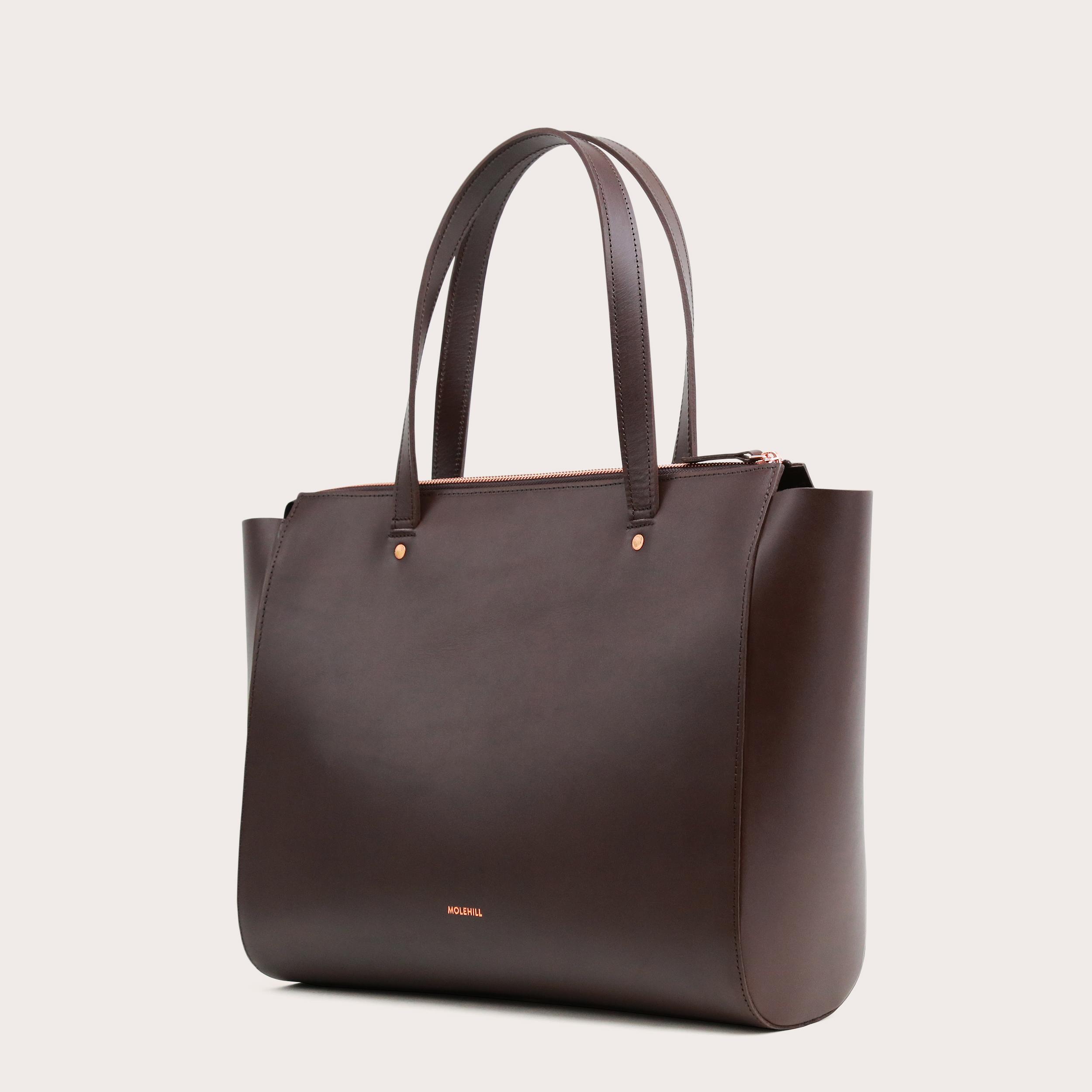 SUR Medium Everyday Bag Dark Chocolate-2