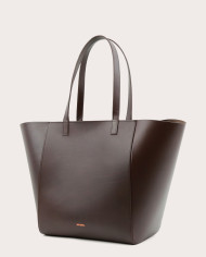 Torba ESTE Medium Zip Shopper Bag Dark Chocolate-3