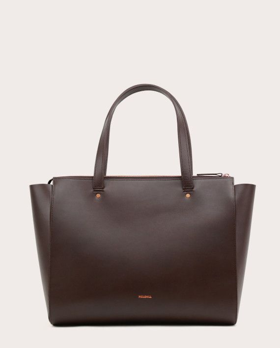 SUR Medium Everyday Bag Dark Chocolate-1