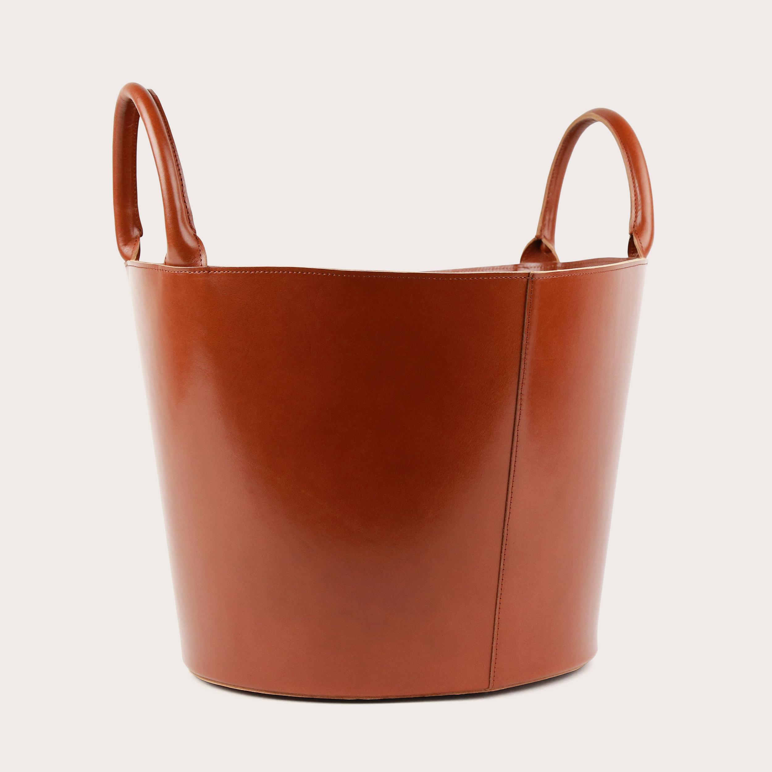 Laundry Basket Skórzany Koszt Molehill-1