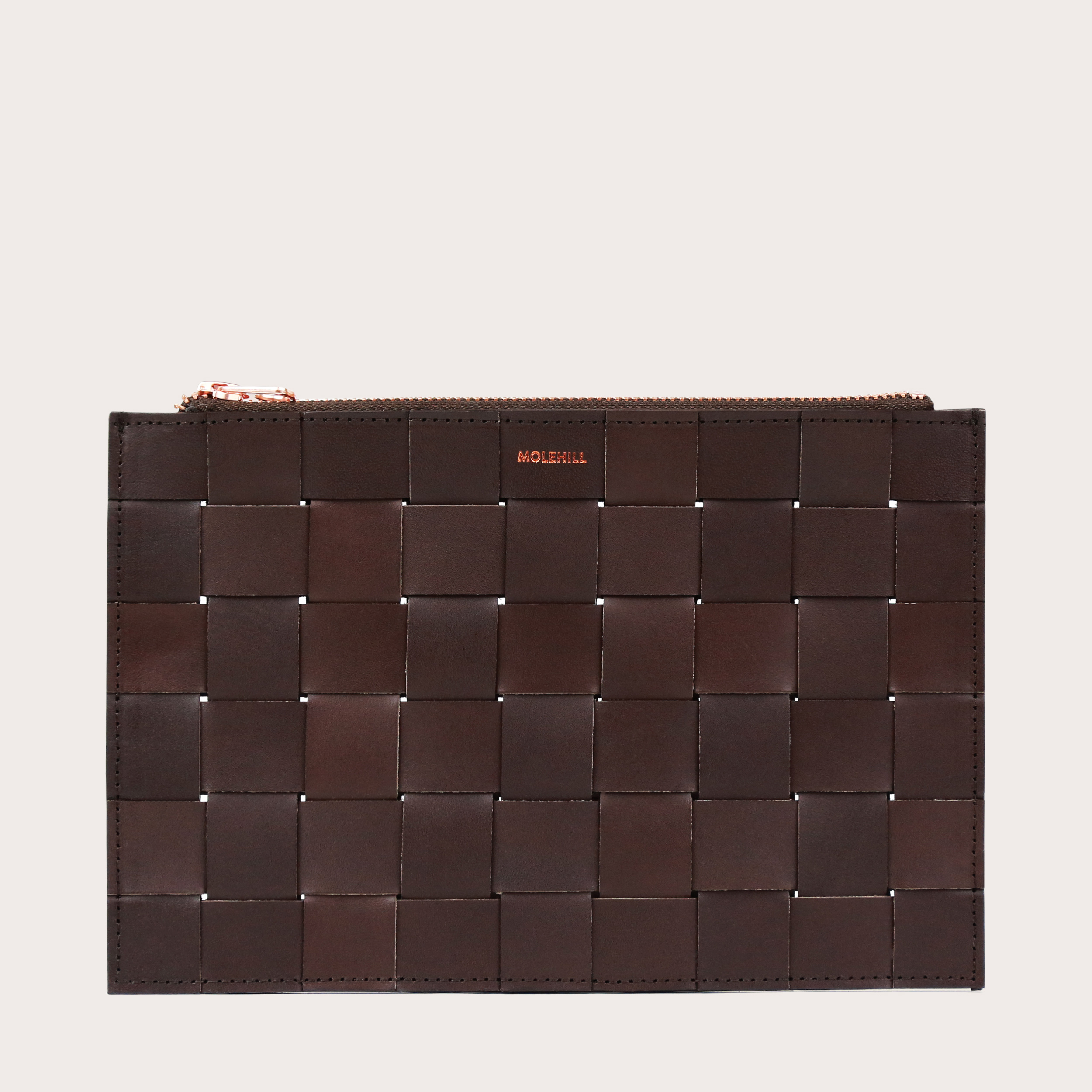 Saszetk Woven Case Dark Chocolate Molehill
