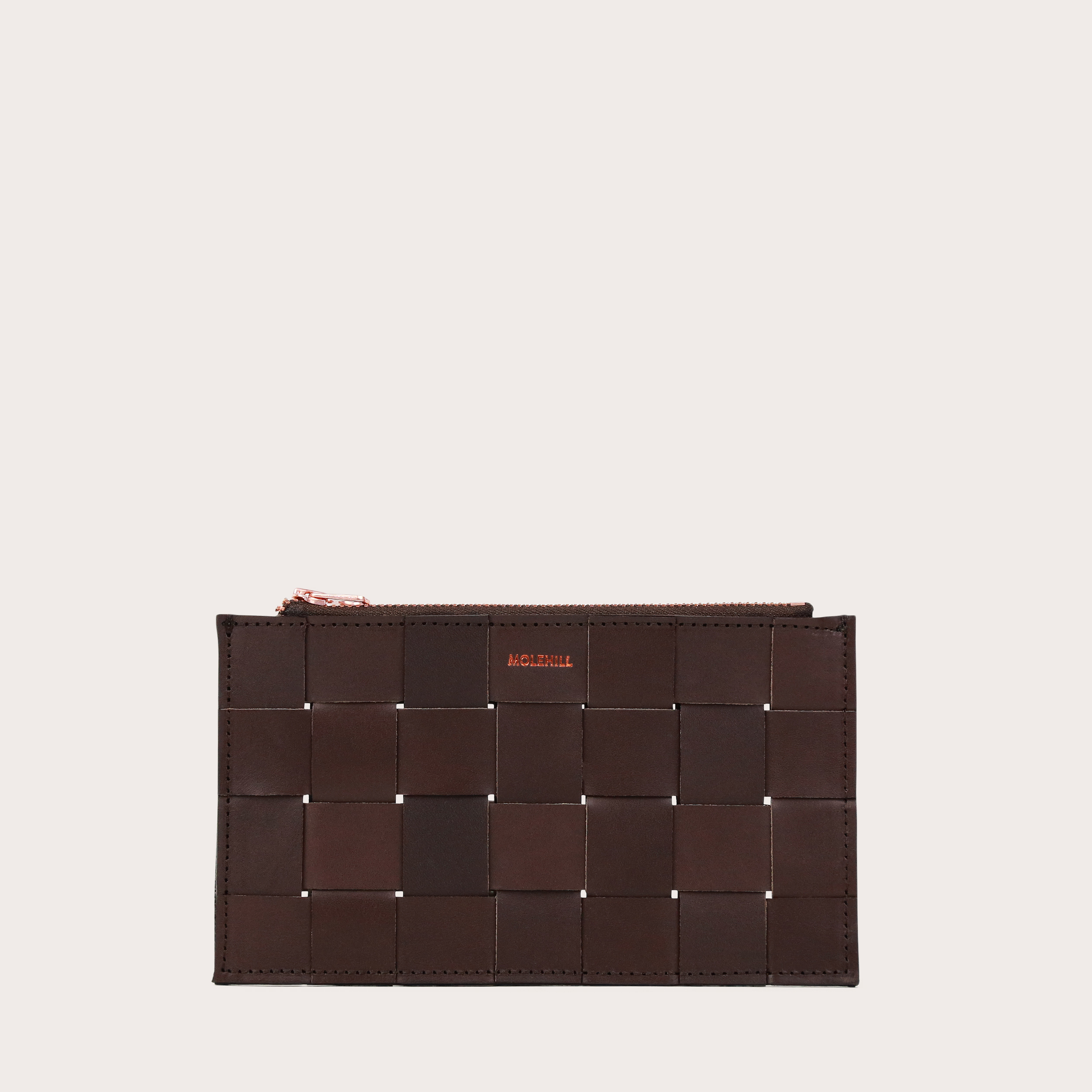 Saszetka Woven Case Horizontal Dark Chocolate Molehill