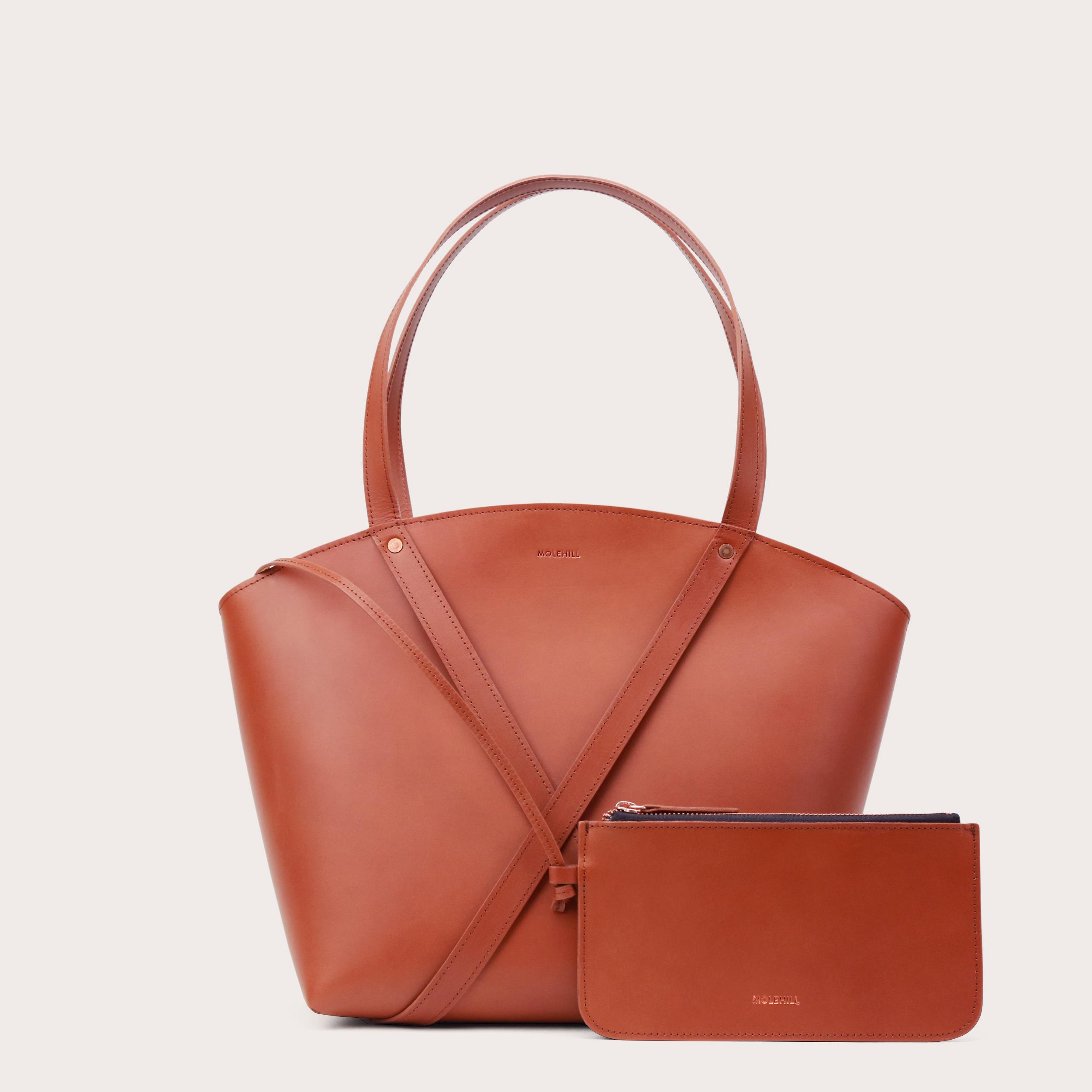 BONDIA Shopper Bag Cognac-2