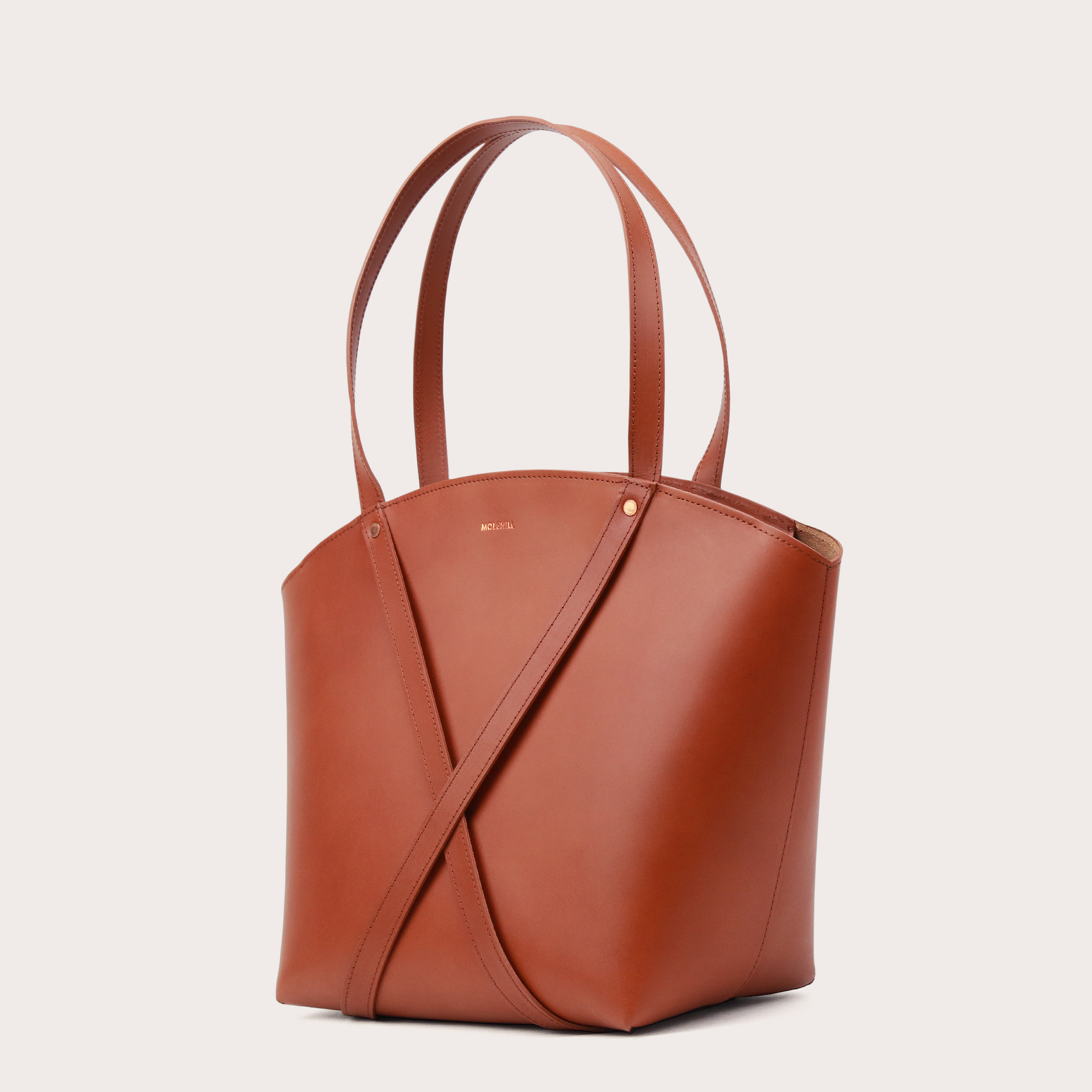 BONDIA Shopper Bag Cognac-3