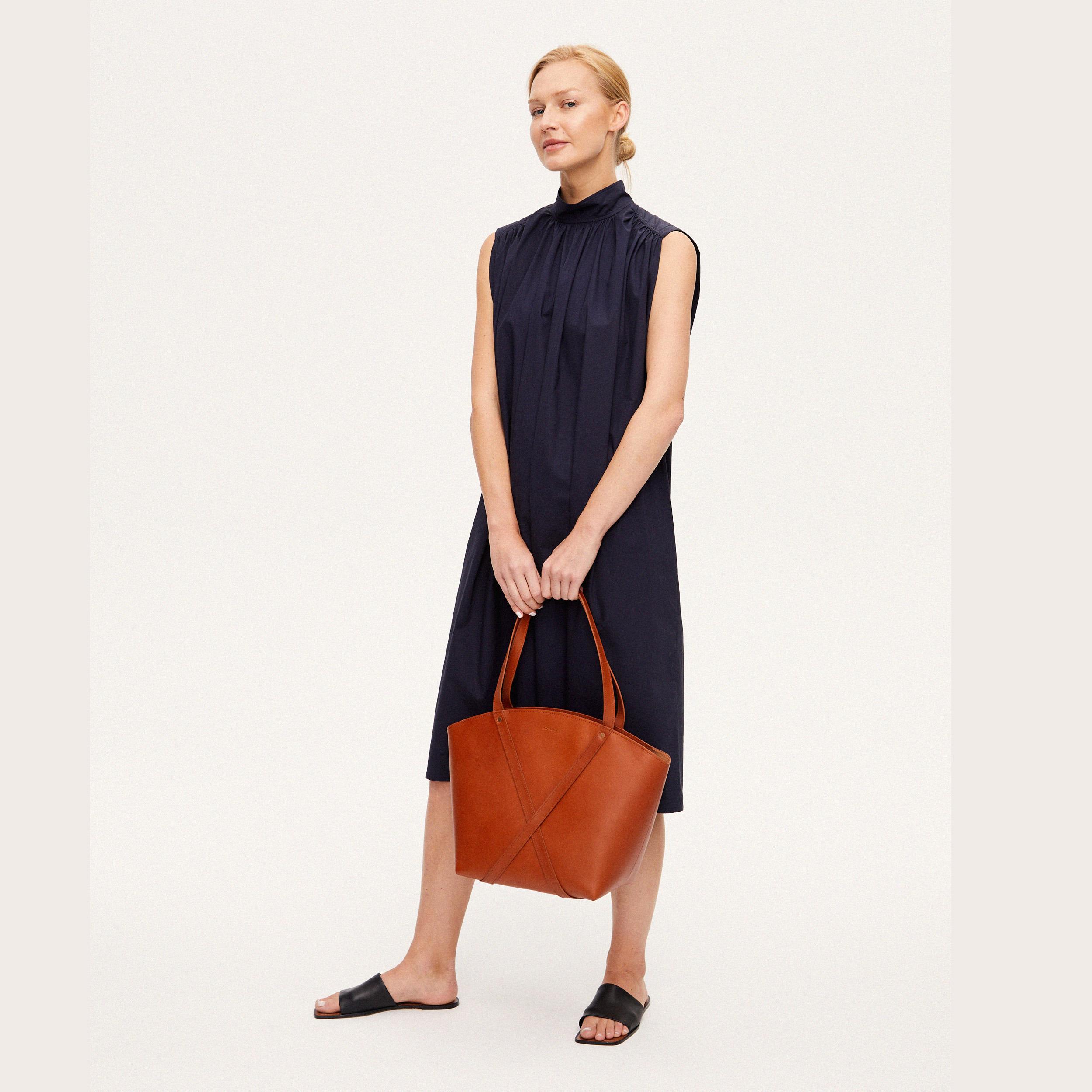 BONDIA Shopper Bag Cognac-look-1