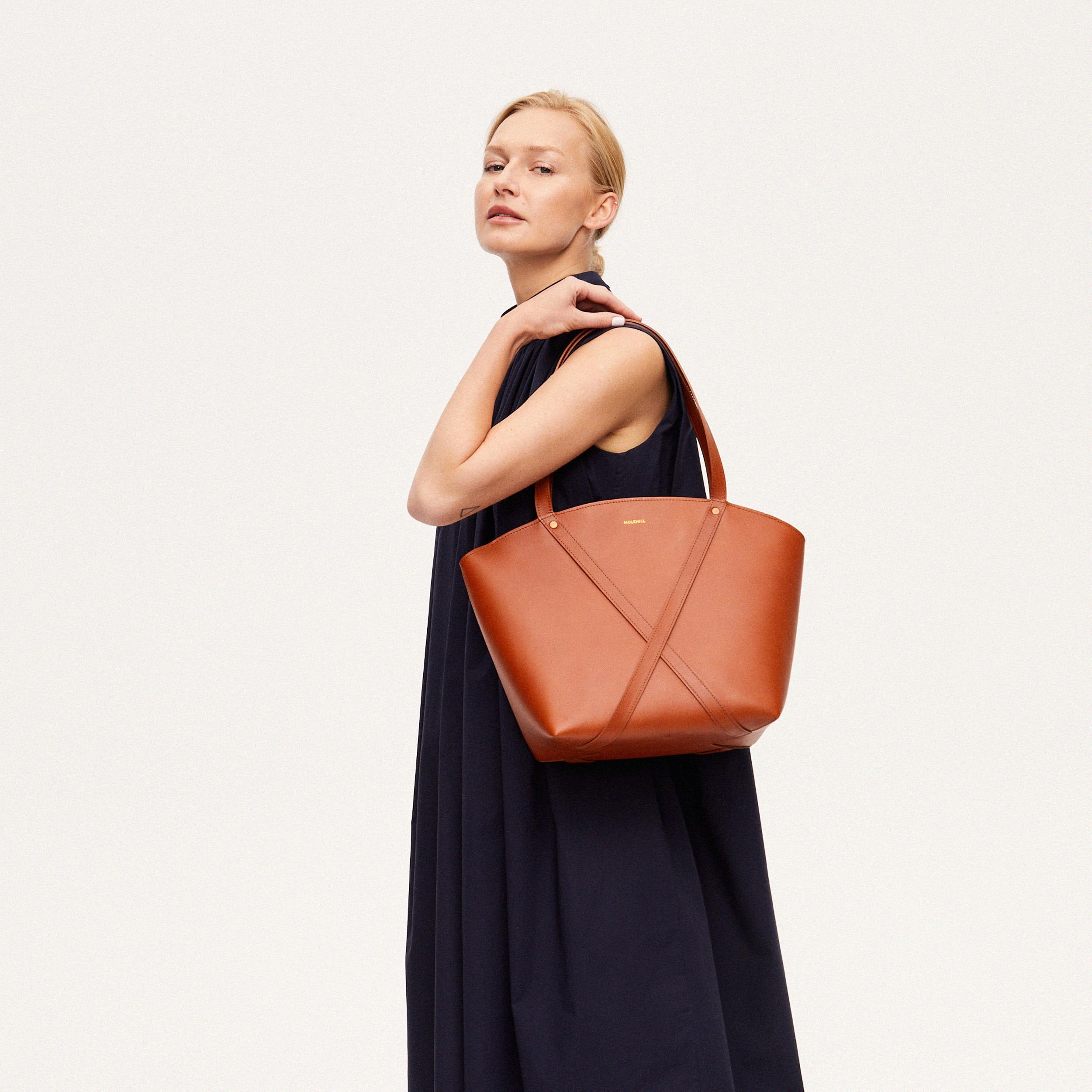 BONDIA Shopper Bag Cognac-look-2