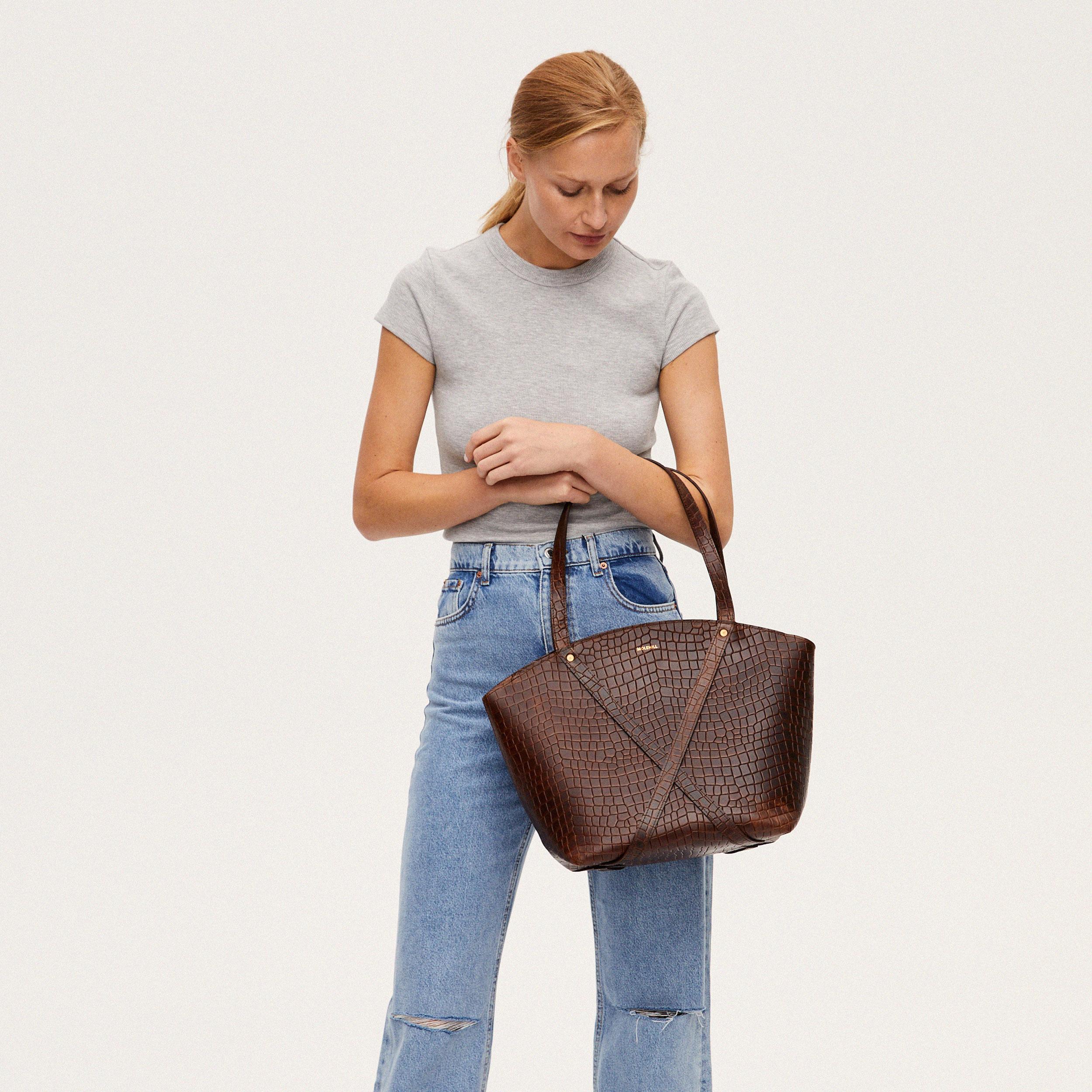 BONDIA Shopper Bag Croco-look-2