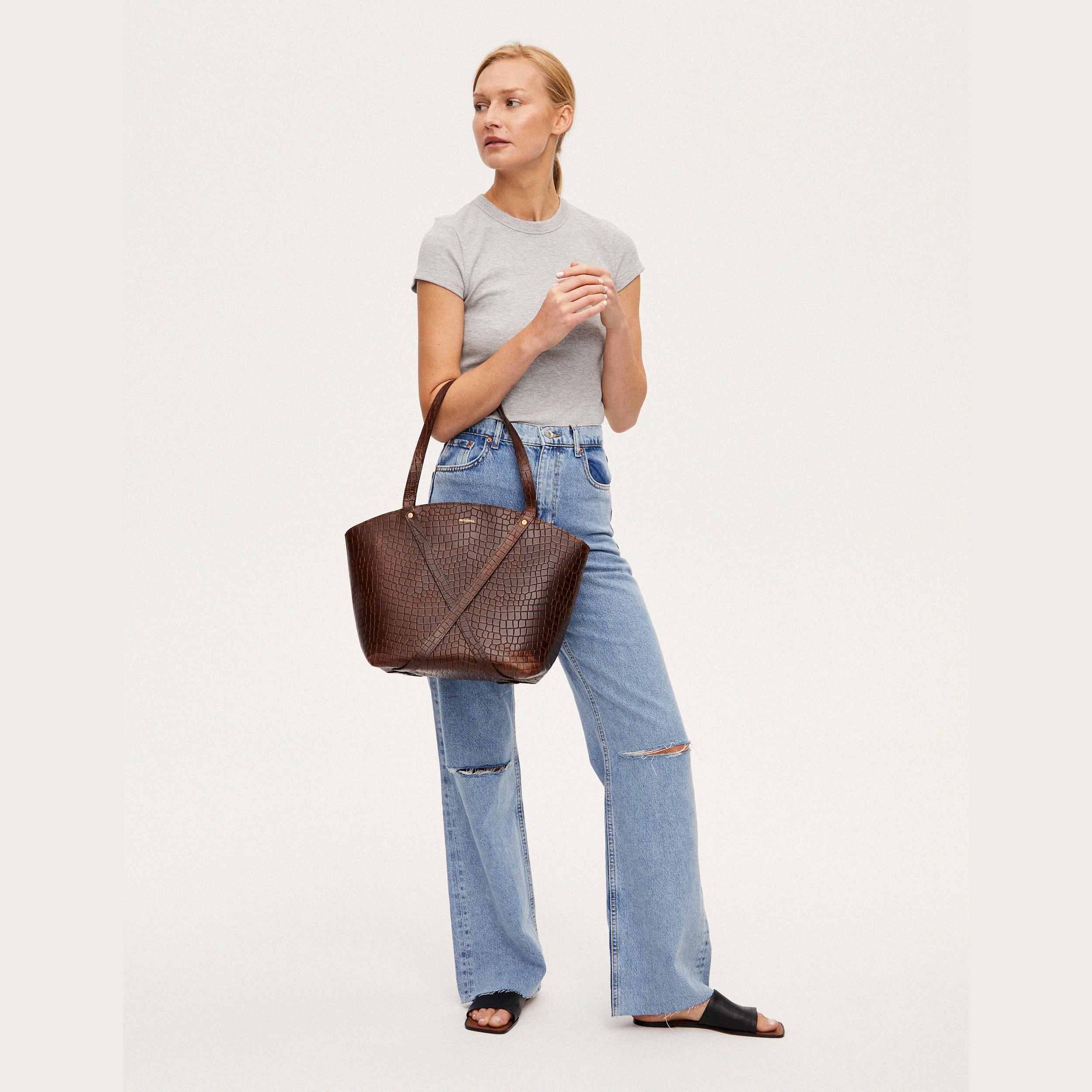 BONDIA Shopper Bag Croco-look-3