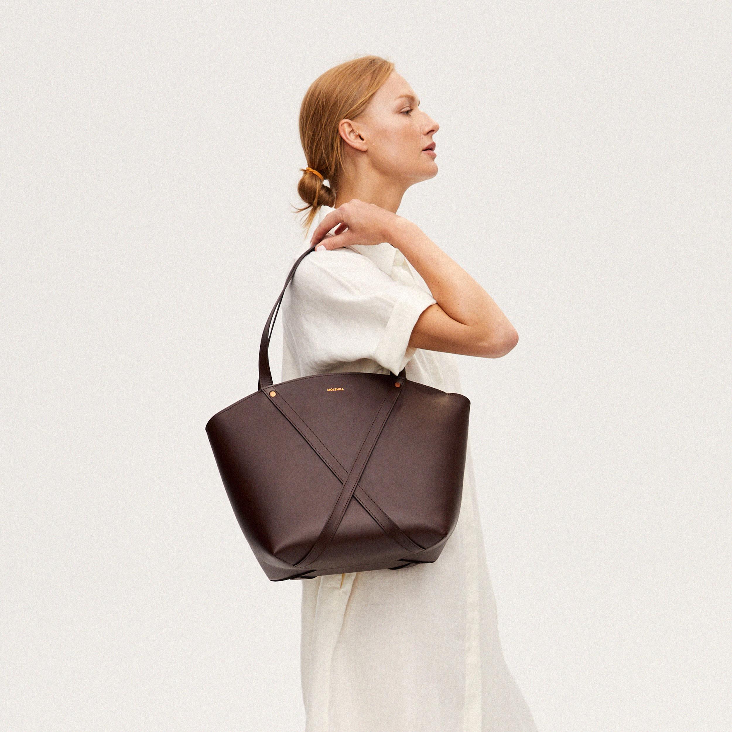 BONDIA Shopper Bag Dark Chocolate-look-2
