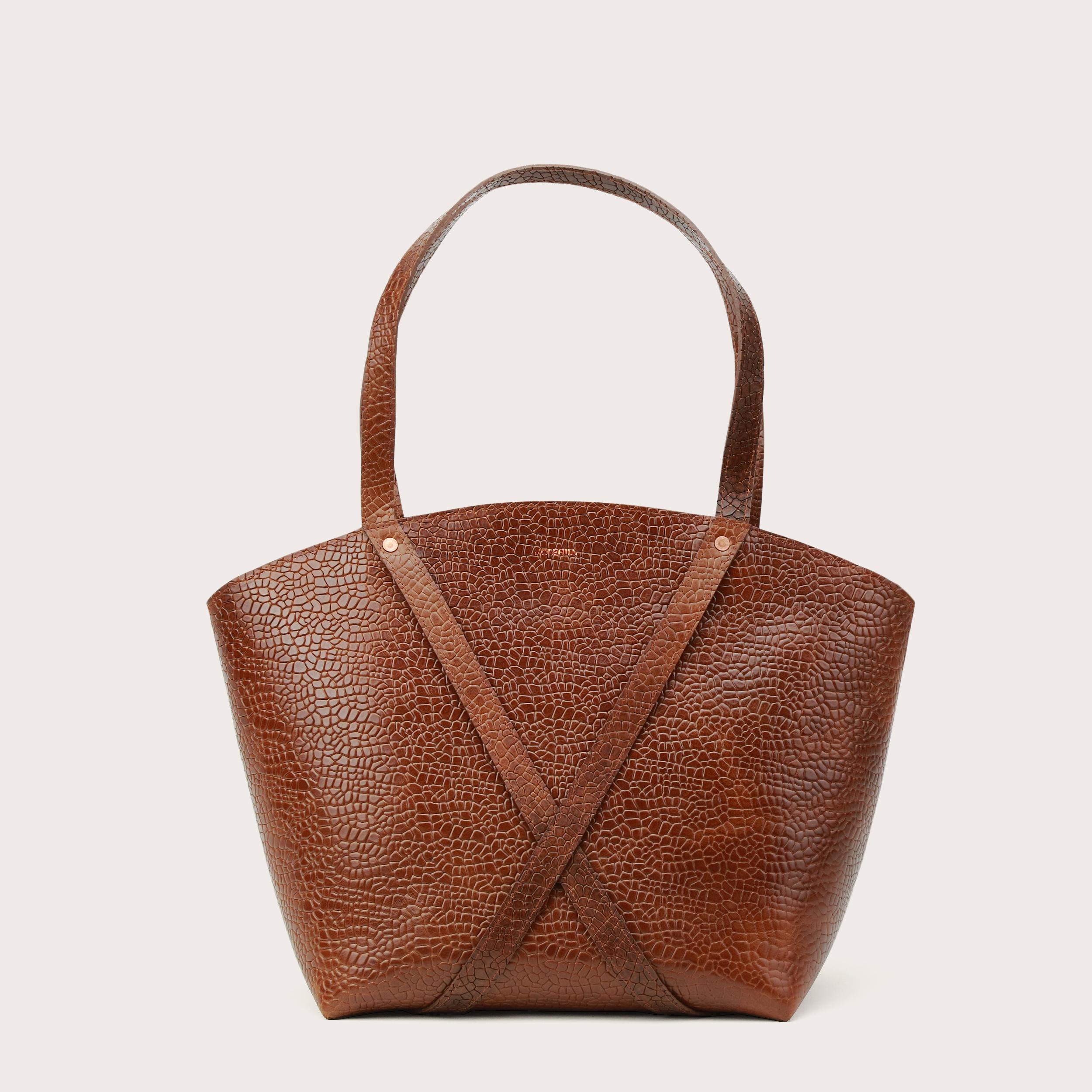 BONDIA Shopper BagMosaic Brown-1