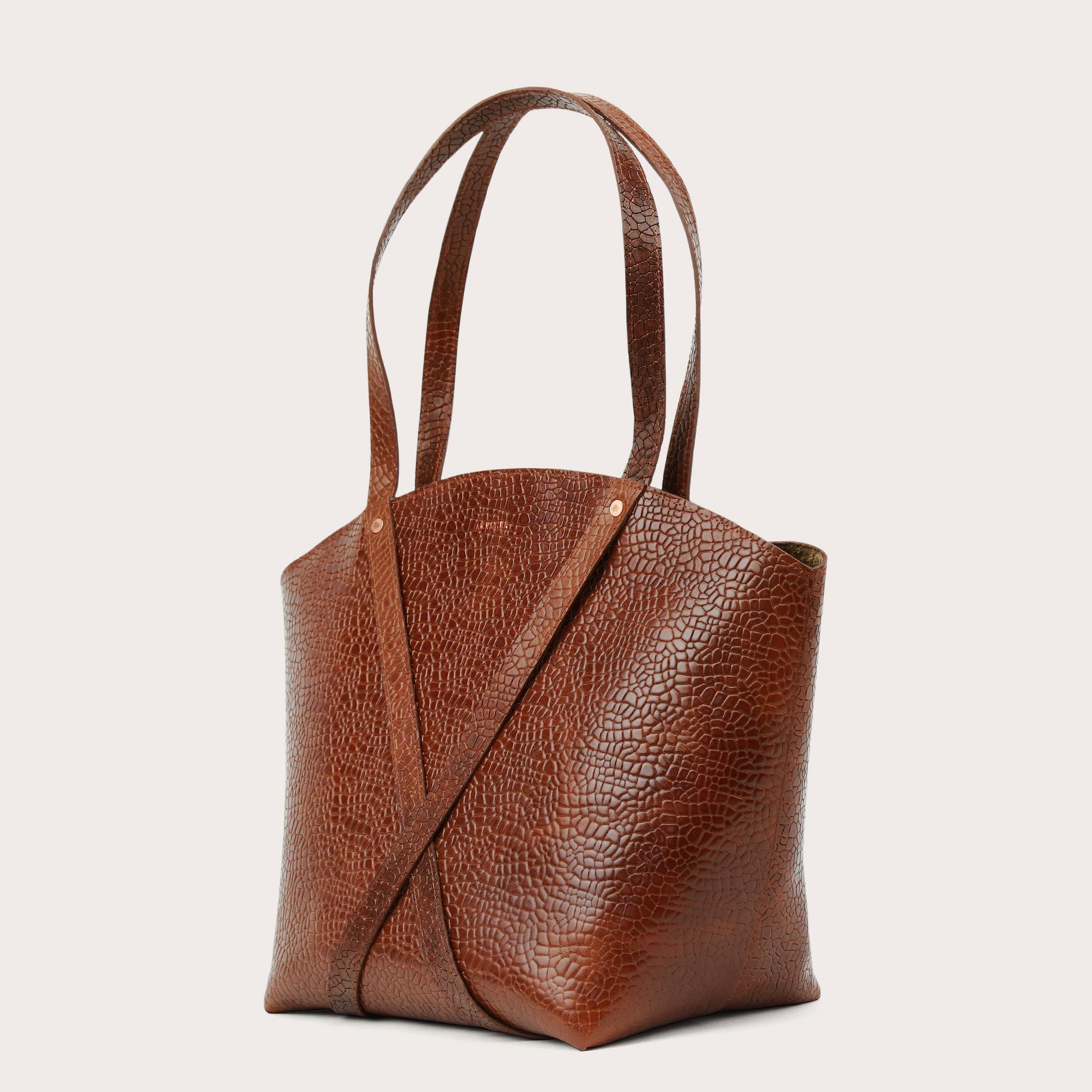 BONDIA Shopper BagMosaic Brown-3