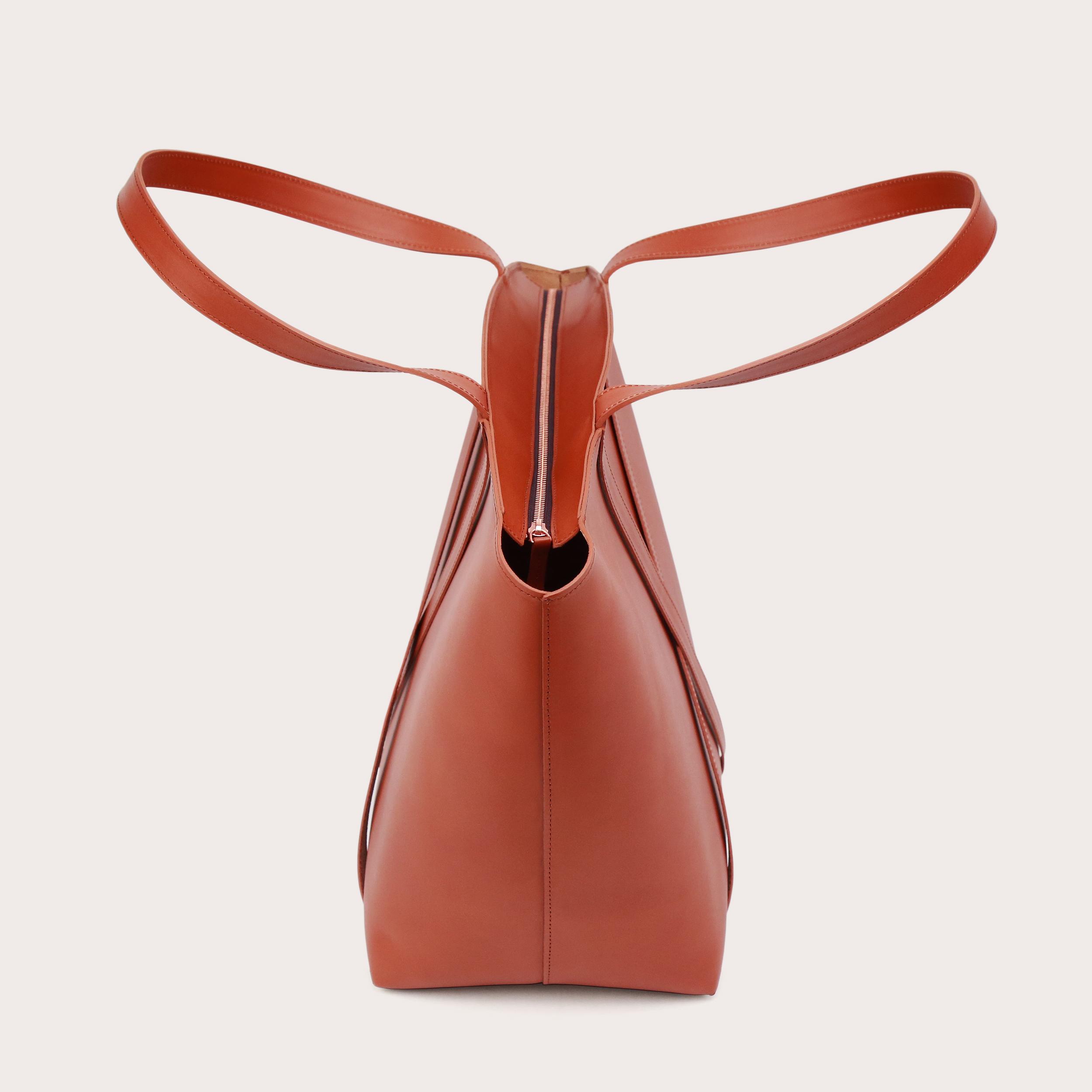 BONDIA Weekender Bag Cognac-4
