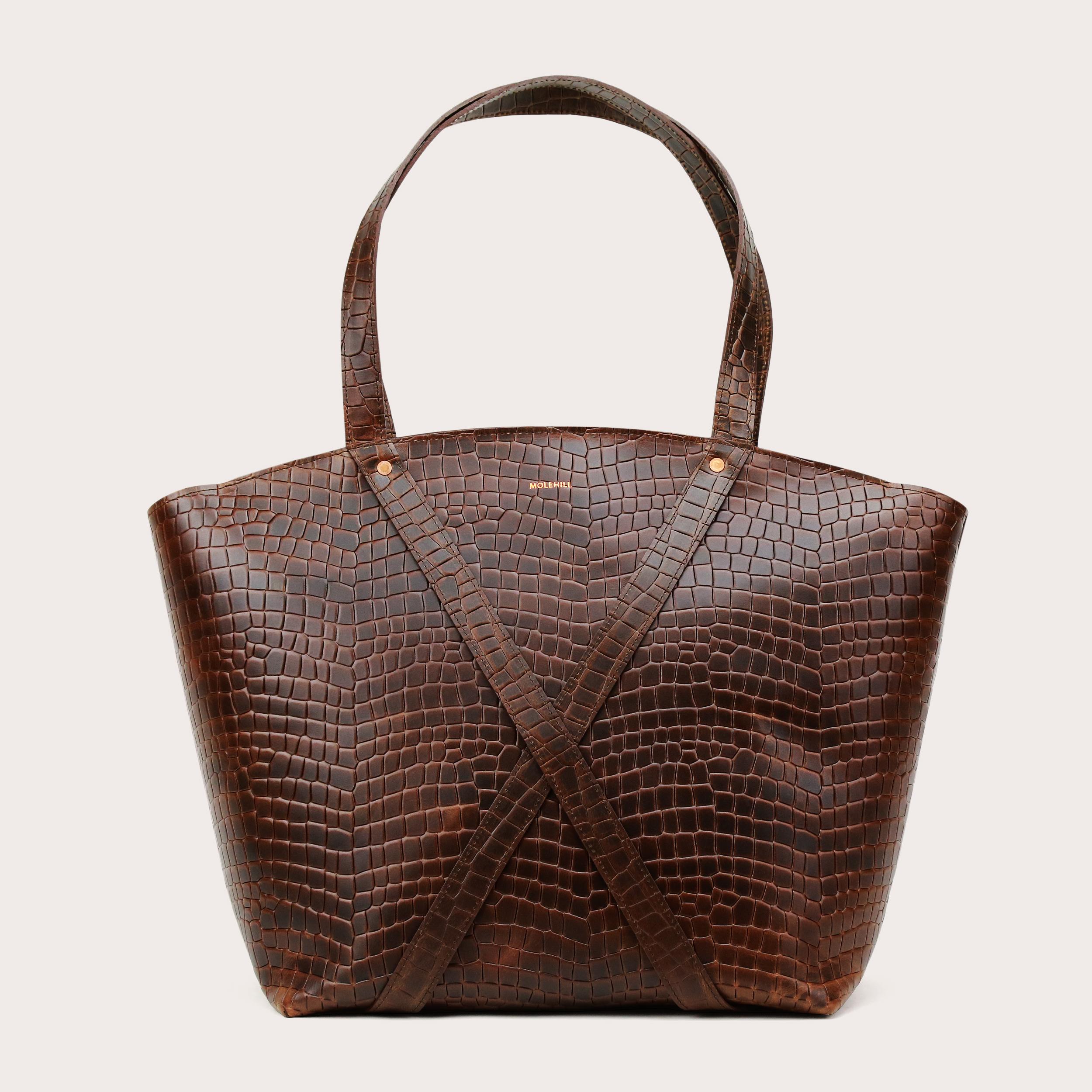 BONDIA Weekender Bag Croco-1
