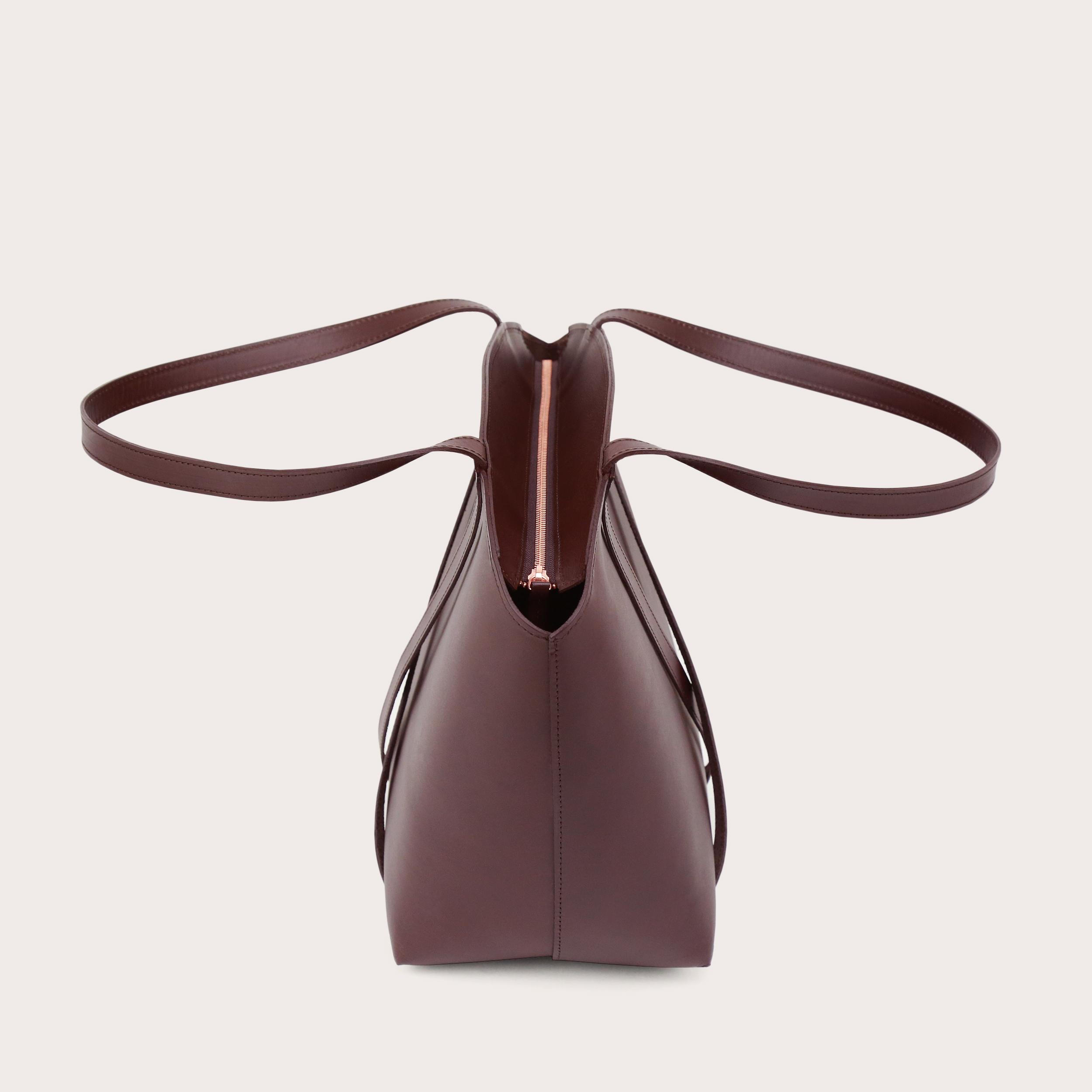BONDIA Weekender Bag Dark Chocolate-4