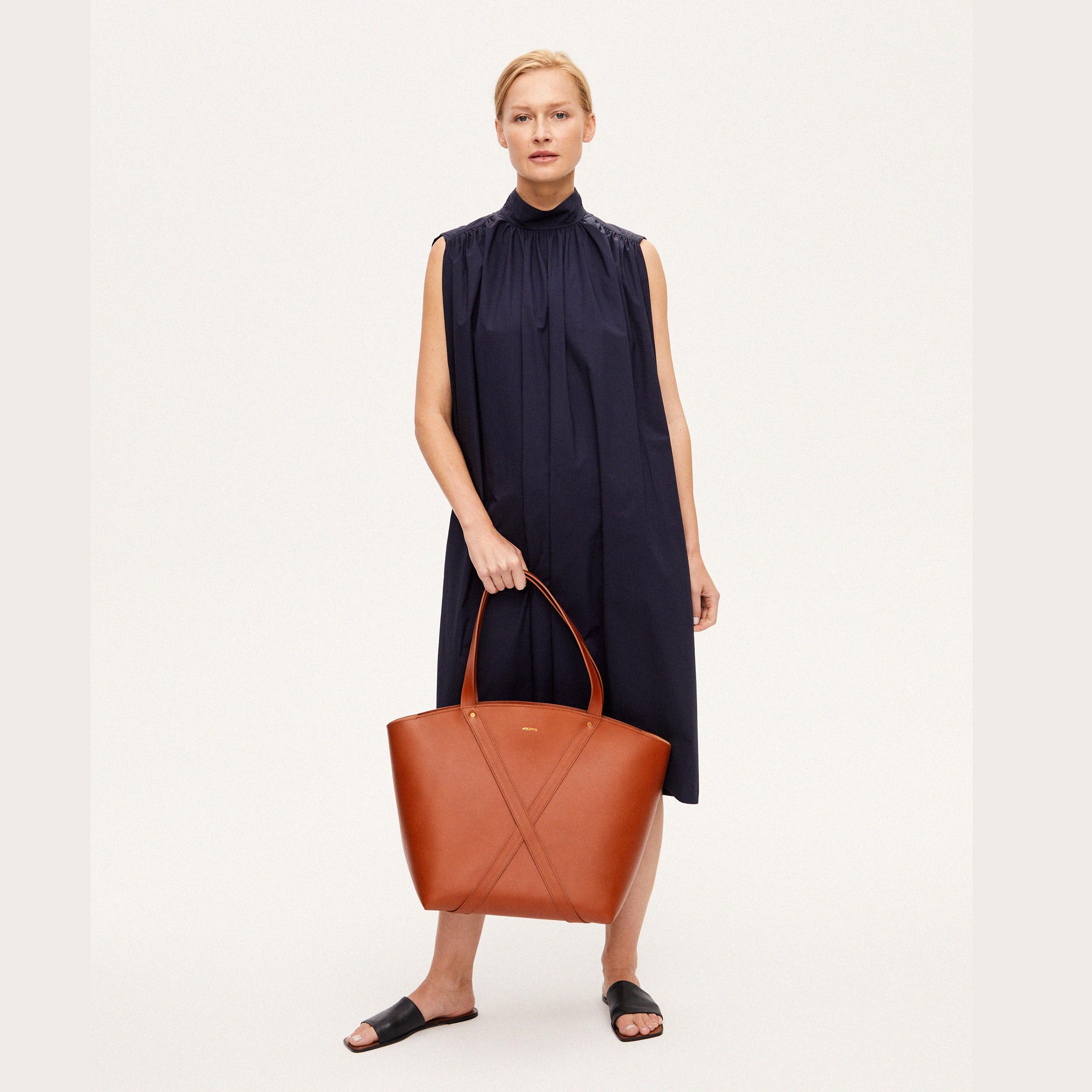 Torba BONDIA Weekender Bag Cognac-look-1