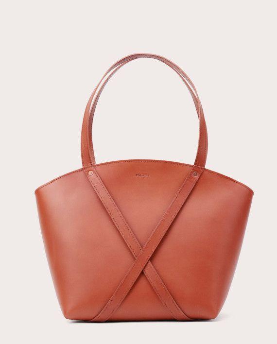 BONDIA Shopper Bag Cognac-1
