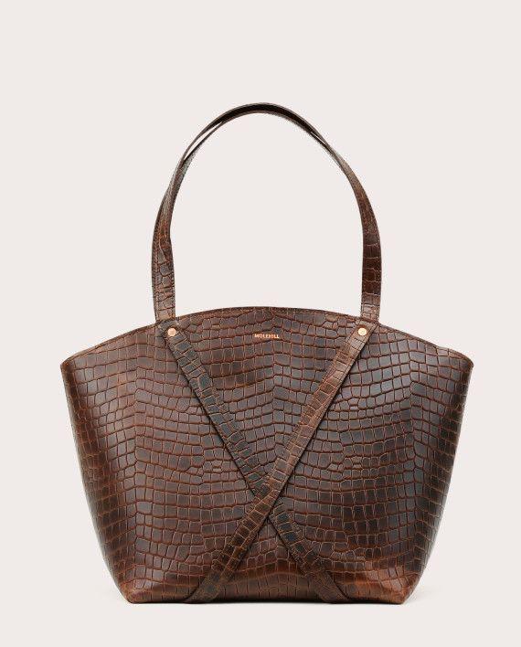 BONDIA Shopper Bag Croco-1