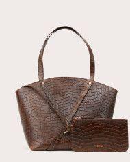 BONDIA Shopper Bag Croco-2
