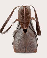 BONDIA Shopper Bag Croco-4