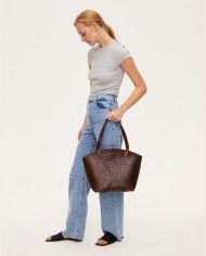BONDIA Shopper Bag Croco-look-1