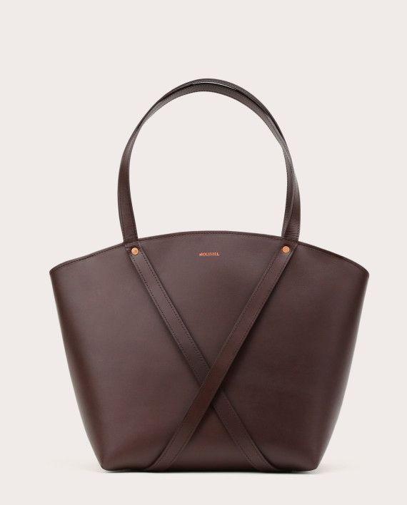 BONDIA Shopper Bag Dark Chocolate-1
