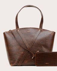BONDIA Weekender Bag Croco-2