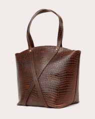 BONDIA Weekender Bag Croco-3