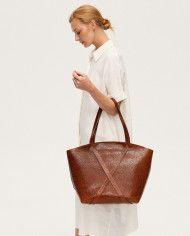 Torba BONDIA Weekender Mosaic Brown-look-2