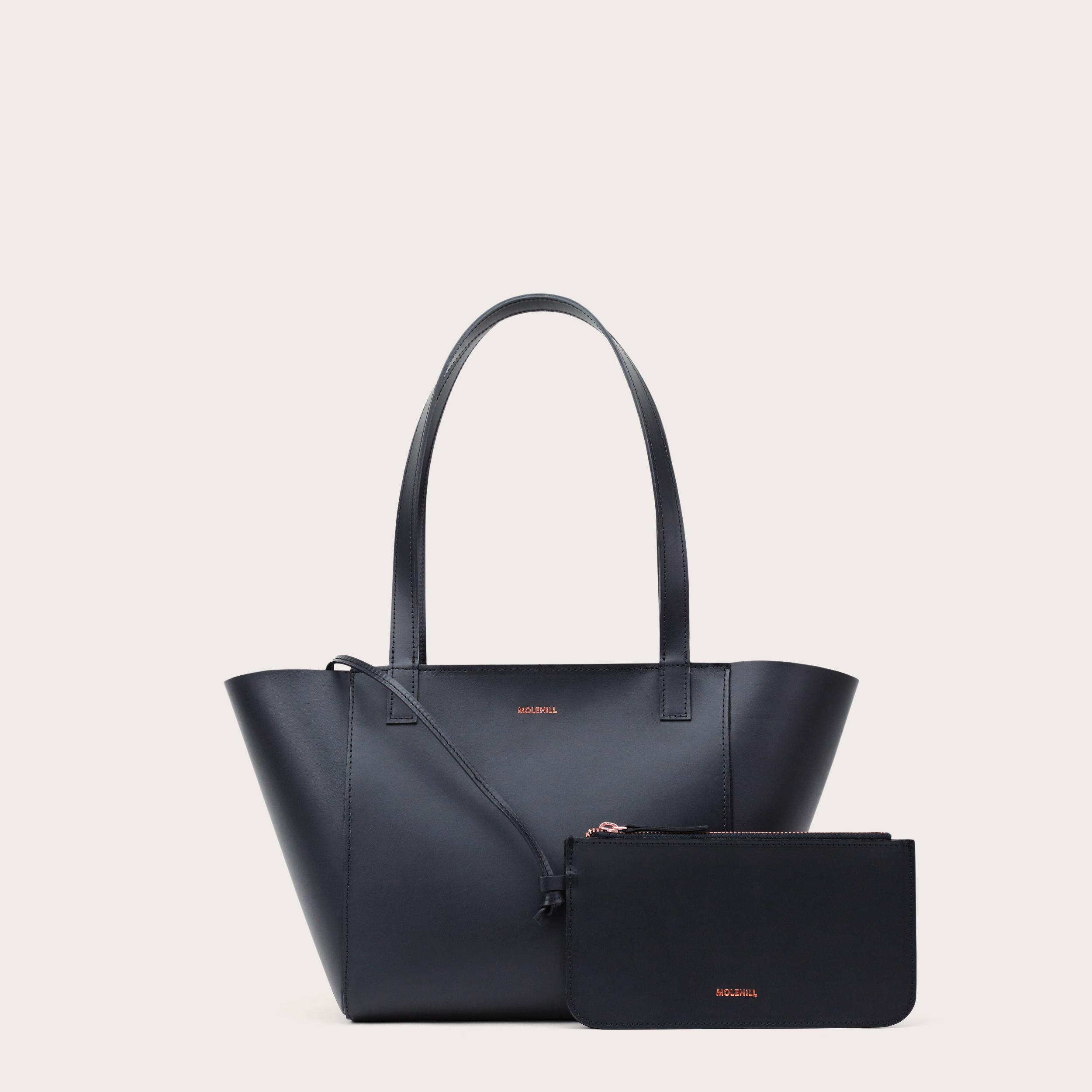 Torba ESTE Regular Zip Shopper Bag Black-2