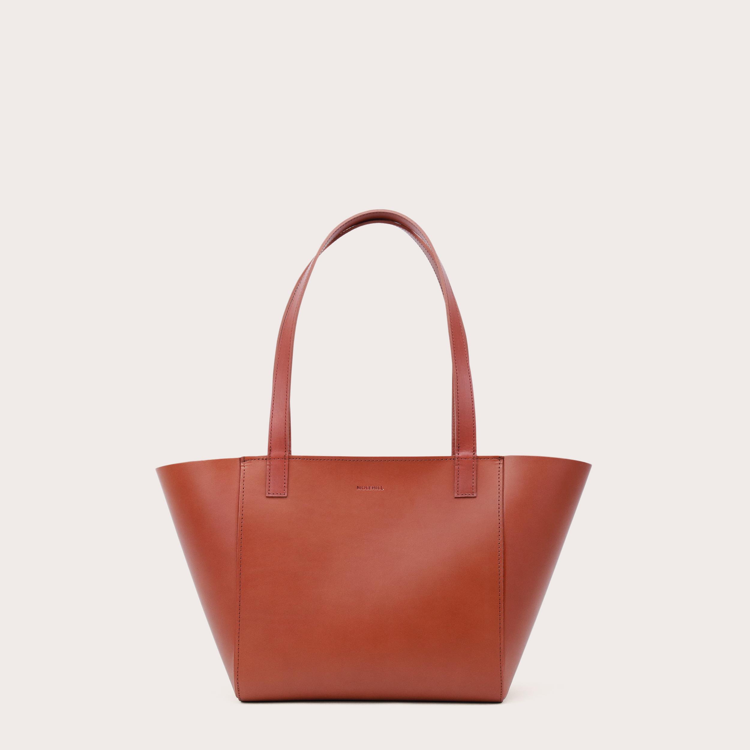 Torba ESTE Regular Zip Shopper Bag Cognac-1
