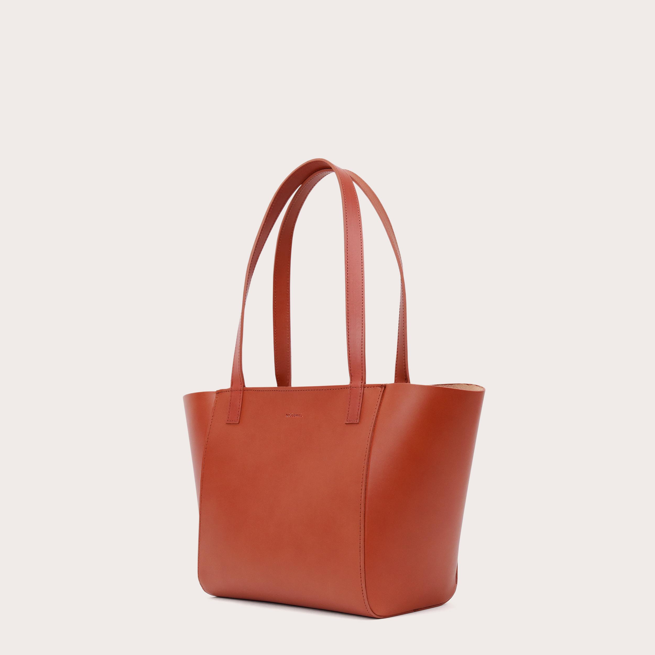 Torba ESTE Regular Zip Shopper Bag Cognac-3