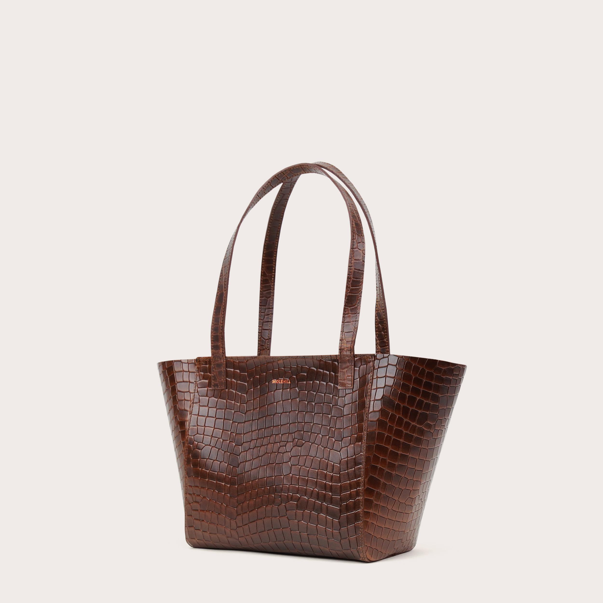 Torba ESTE Regular Zip Shopper Bag Croco 1-3
