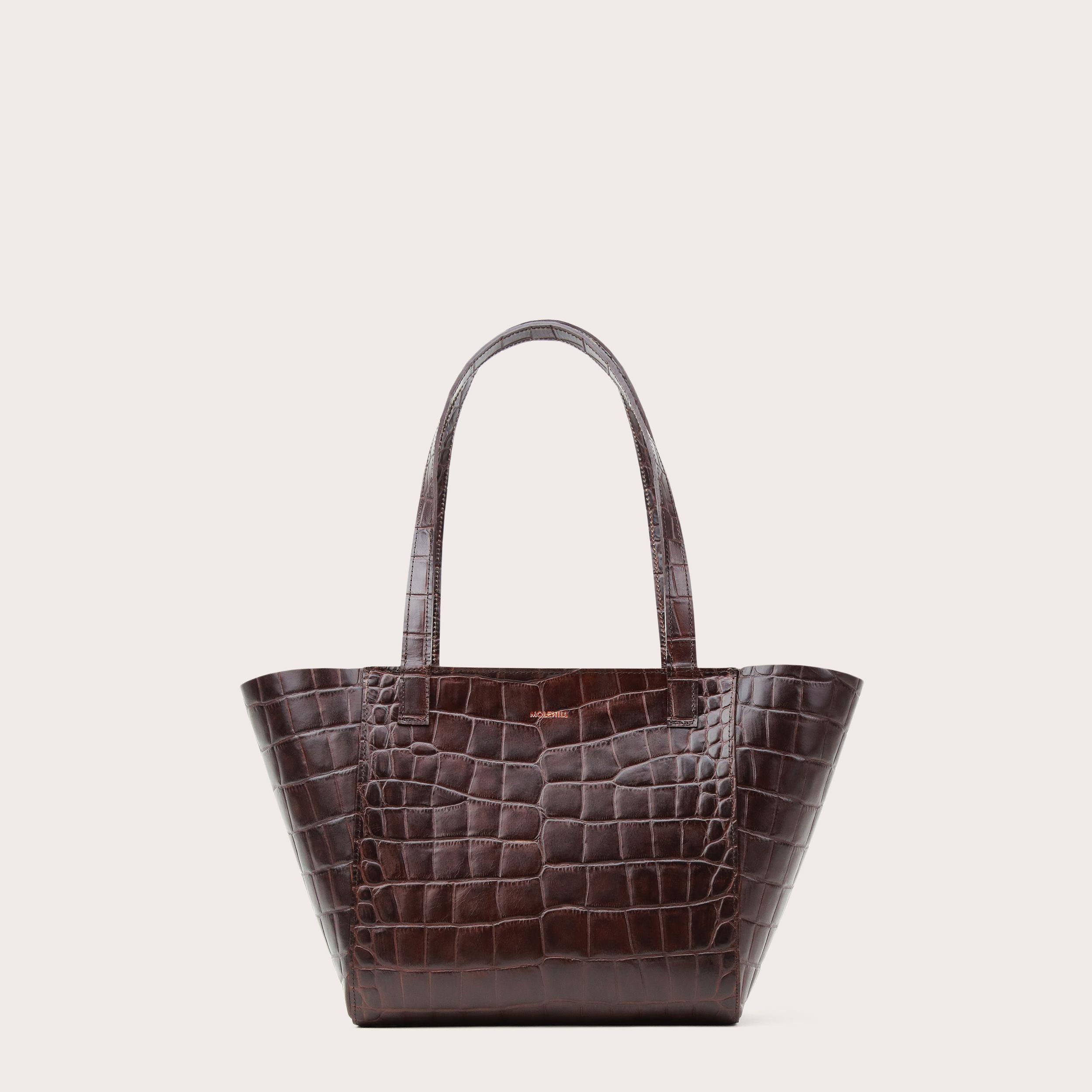 Torba ESTE Regular Zip Shopper Bag Croco 2-1