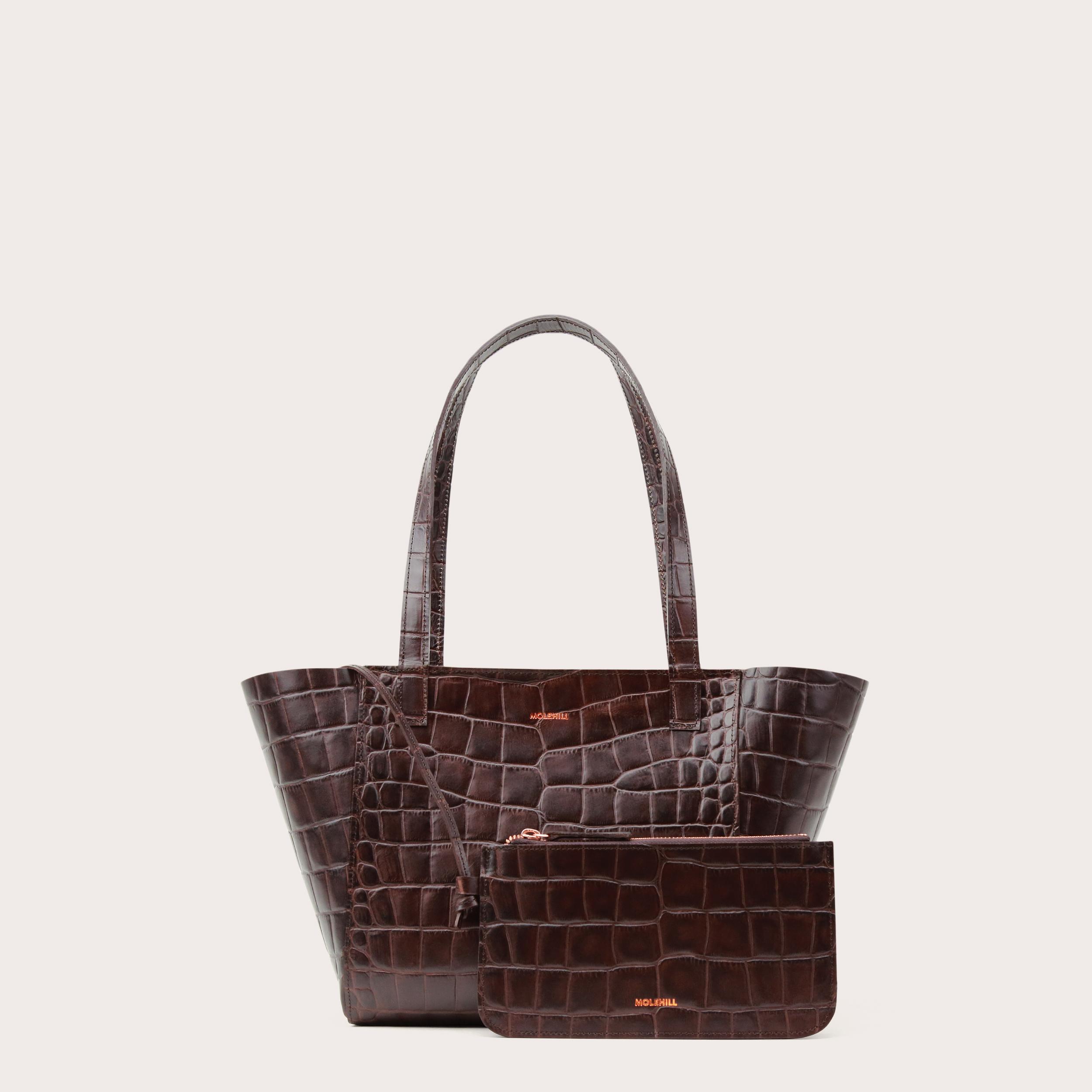 Torba ESTE Regular Zip Shopper Bag Croco 2-2