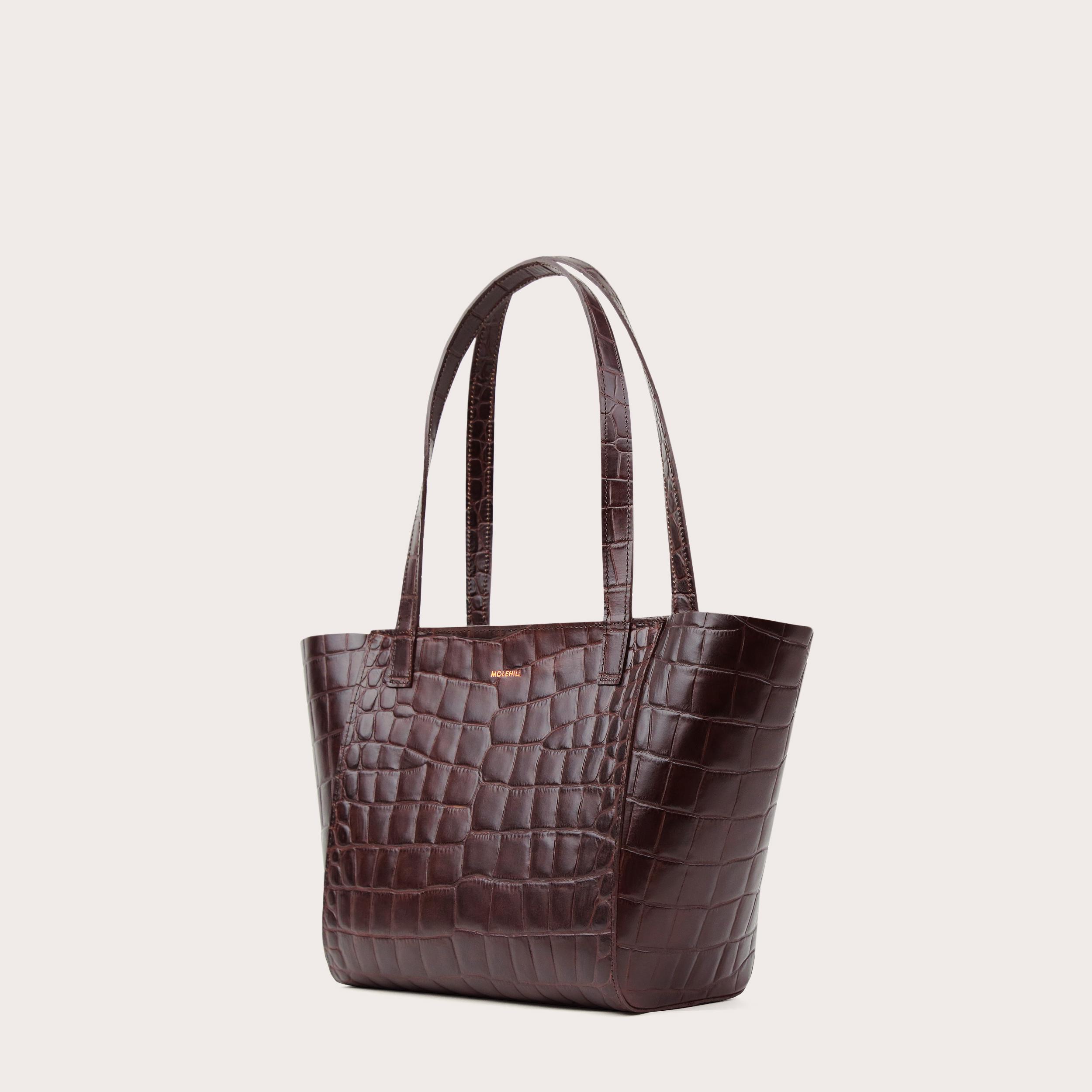 Torba ESTE Regular Zip Shopper Bag Croco 2-3