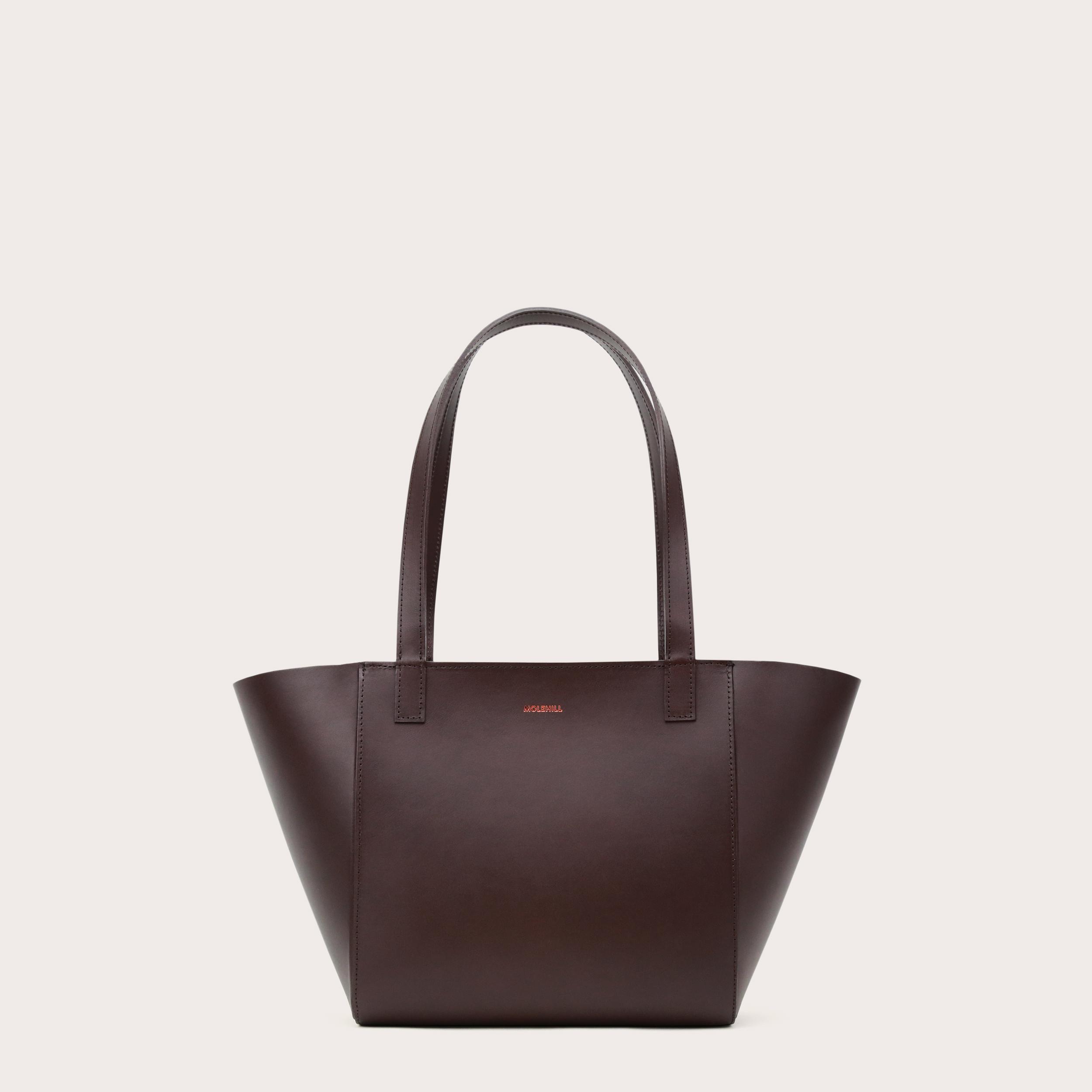 Torba ESTE Regular Zip Shopper Bag Dark Chocolate-1