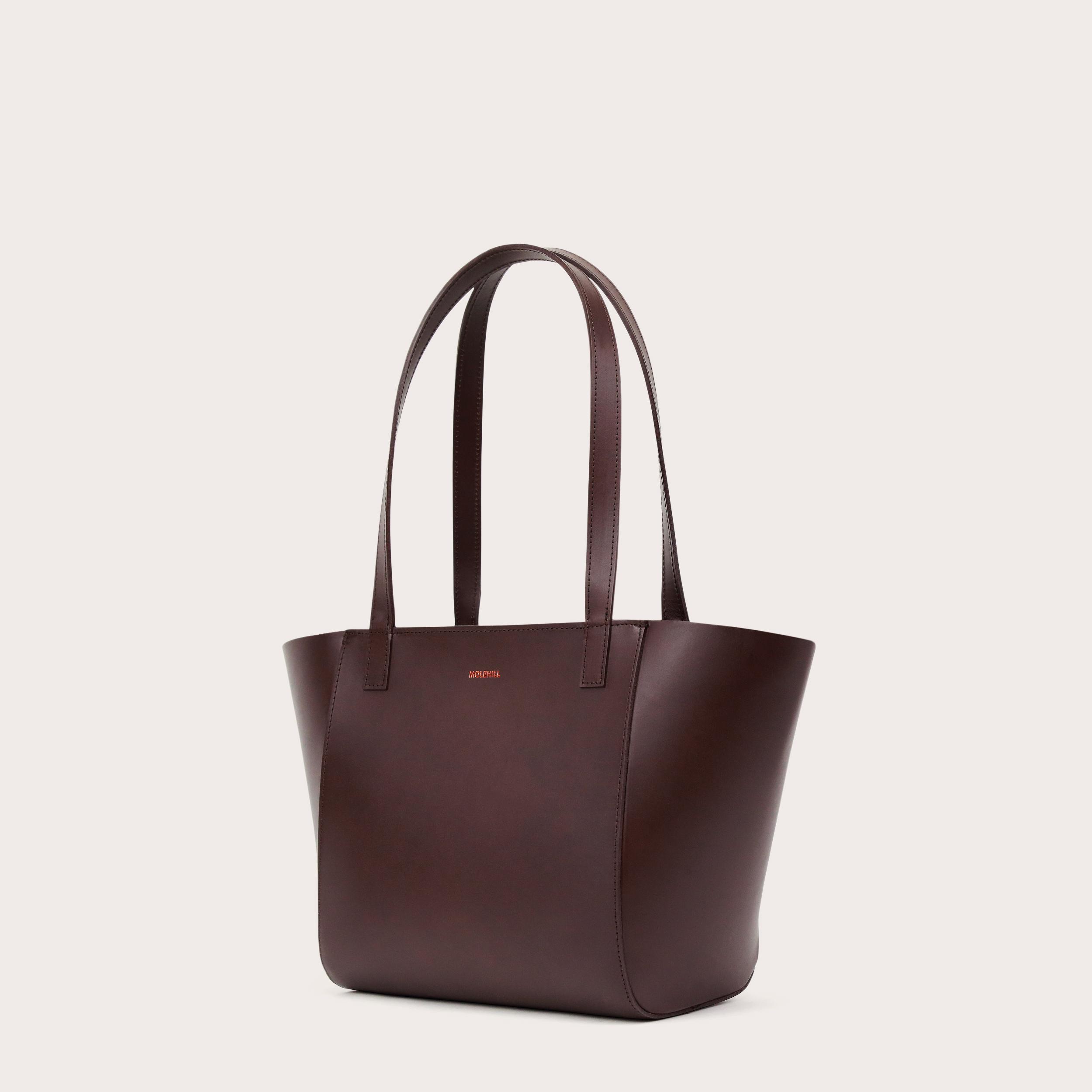 Torba ESTE Regular Zip Shopper Bag Dark Chocolate-3