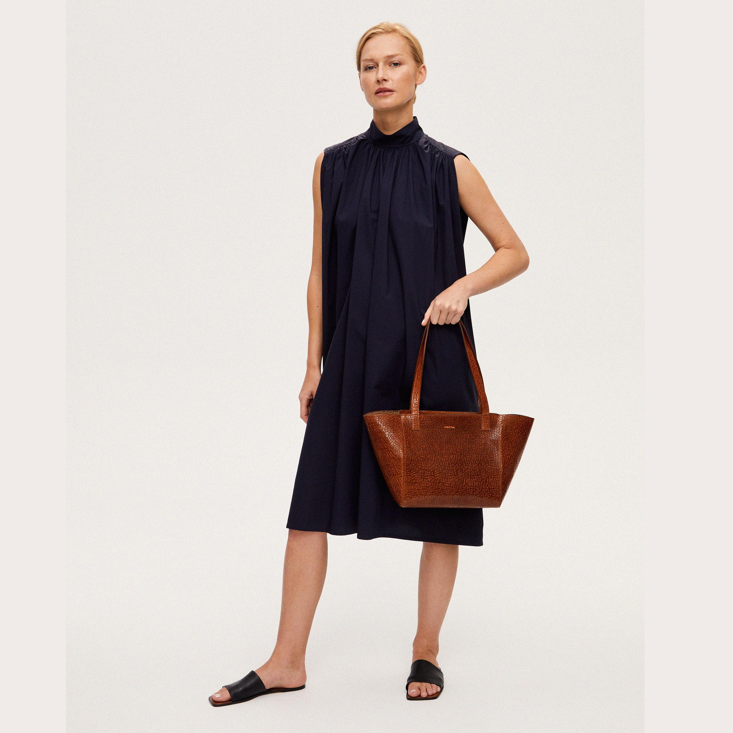 Torba ESTE Regular Zip Shopper Bag Mosaic Brown-6