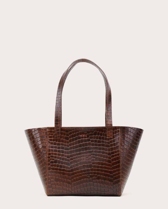 Torba ESTE Regular Zip Shopper Bag Croco 1-1
